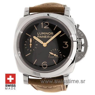 Panerai Luminor 1950 3 Days Power Reserve Acciaio 47mm PAM423 Swiss Replica