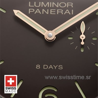 Panerai Luminor 1950 Left Handed 8 Days | Swisstime Watch