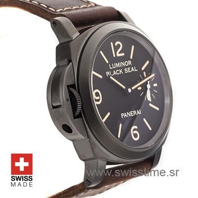 Panerai Luminor Black Seal Left-handed 8 Days DLC 44mm PAM786 Swiss Replica