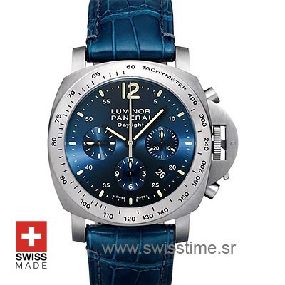 Panerai Luminor Chrono Daylight Firenze 1860 Swisstime Watch