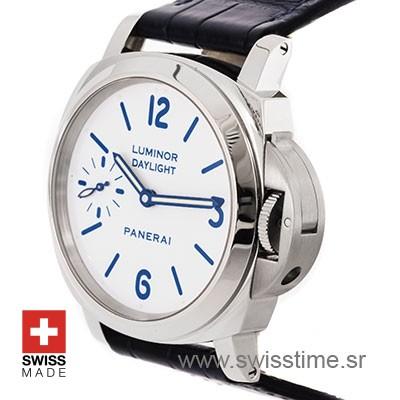 Panerai Luminor Daylight 8 Days Acciaio White Dial 44mm PAM786 Swiss Replica