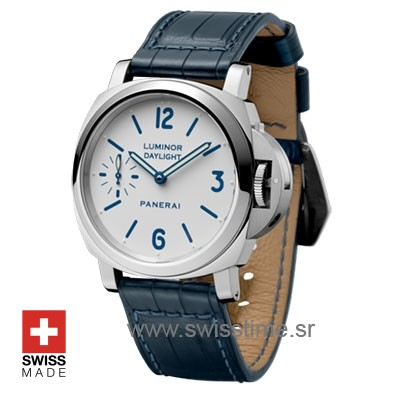 Panerai Luminor Daylight 8 Days Acciaio White Dial 44mm PAM786 Swiss Replica