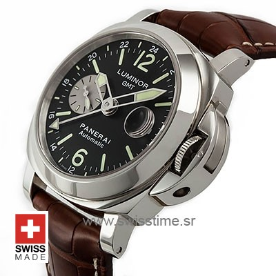 Panerai Luminor GMT Automatic Acciaio | Swiss Replica Watch