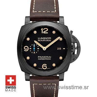 Panerai Luminor Marina 1950 Carbotech 3 Days Automatic 44mm PAM661 Swiss Replica