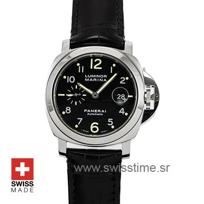 Panerai Luminor Marina Automatic 44mm | Leather Strap Watch