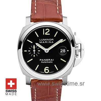 Panerai Luminor Marina Automatic Acciaio 40mm PAM048 Swiss Replica