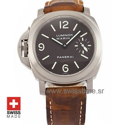Panerai Luminor Marina Destro Titanium 44 mm PAM056 Swiss Replica