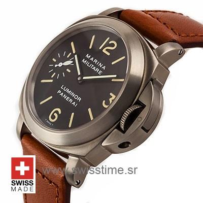 Panerai Luminor Marina Militare 44mm   Swiss Replica Watch
