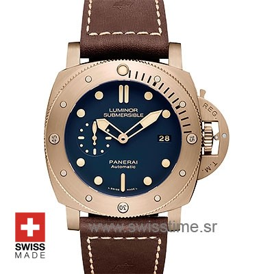 Panerai Luminor Submersible Bronzo | Automatic Replica Watch