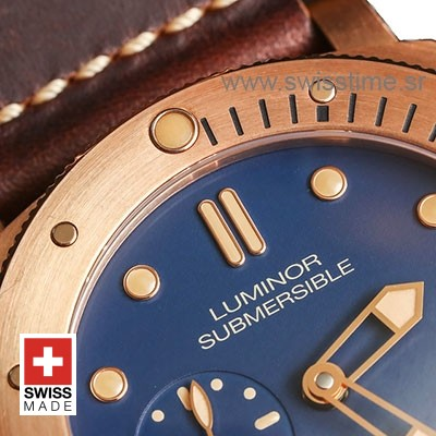 Panerai Luminor Submersible 1950 3 Days Automatic Bronzo 47mm PAM671 Swiss Replica