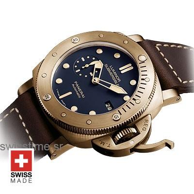 Panerai Luminor Submersible Bronzo | Automatic Replica Watch
