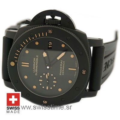 Panerai Luminor Submersible 1950 3 Days Automatic Ceramica 47mm PAM508 Swiss Replica