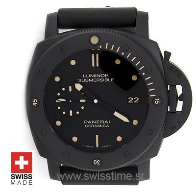 Panerai Luminor Submersible 1950 3 Days Automatic Ceramica 47mm PAM508 Swiss Replica