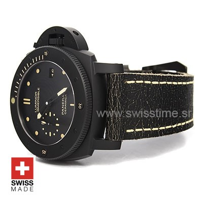 Panerai Luminor Submersible 1950 Ceramica Swisstime Replica