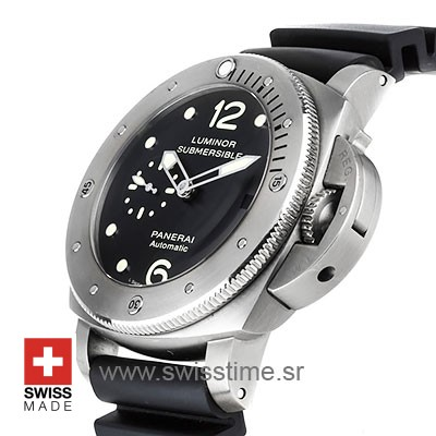 Panerai Luminor Submersible 1950 3 Days Automatic Titanium 47mm PAM571 Swiss Replica