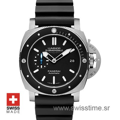 Panerai Luminor Submersible 1950 Amagnetic 3 Days Automatic Titanium 47mm PAM1389 Swiss Replica