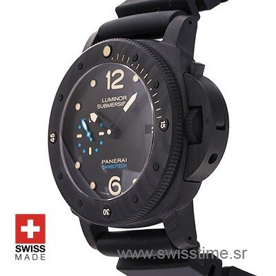 Panerai Luminor Submersible 1950 Carbotech 3 Days Automatic 47mm PAM616 Swiss Replica