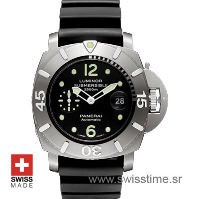 Panerai Luminor Submersible 2500m | Swisstime Replica Watch
