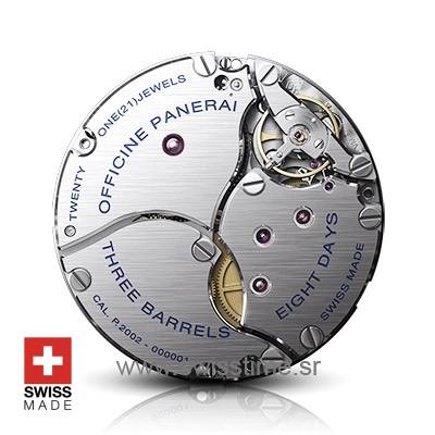 Swisstime.sr - Panerai Hand-wound mechanical P.2002 clone movement