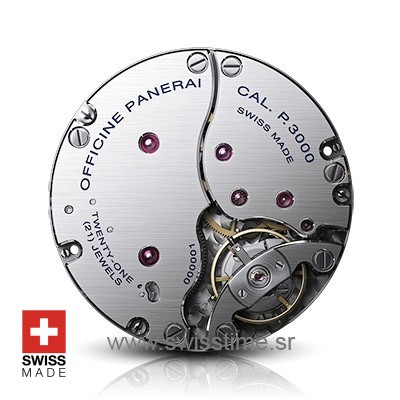 Swisstime.sr - Panerai Hand-wound mechanical, P.3000 clone movement
