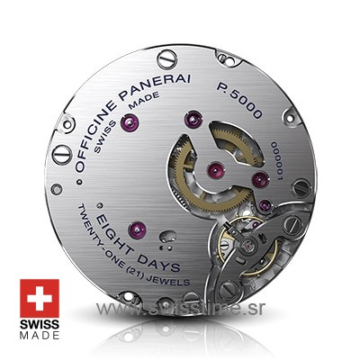 Panerai Caiber P.5000 Swiss Cloned Movement