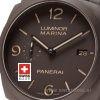 Panerai Luminor Marina Automatic Composite   Swisstime Watch