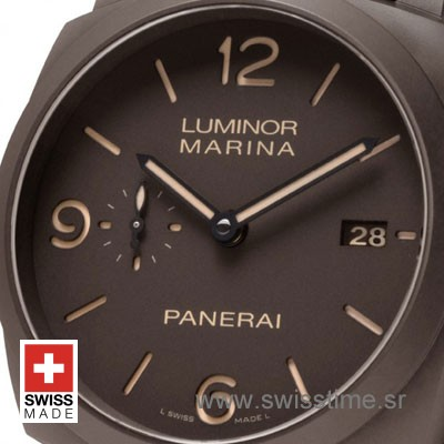 Panerai Luminor Marina Automatic 3 Days Composite DLC P9000 44mm PAM386-2153