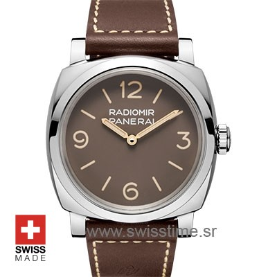 Panerai Radiomir 1940 3 Days Brown Dial | Swisstime Watch