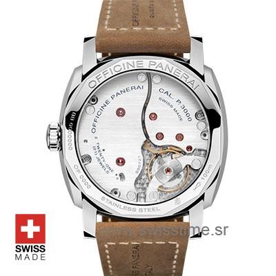 Panerai Radiomir 3 Days Acciaio Blue Dial Swiss Replica Watch