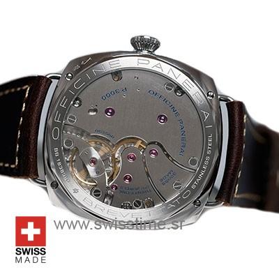 Officine Panerai Brevettato 47mm   Black Dial Replica Watch
