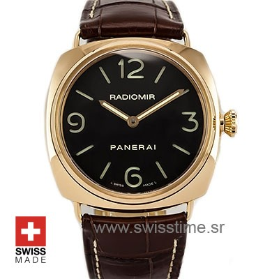 Panerai Radiomir Rose Gold [Ref: pam231] Swiss Replica Watch