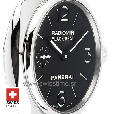 Panerai Radiomir Black Seal 45mm PAM183 Swiss Replica
