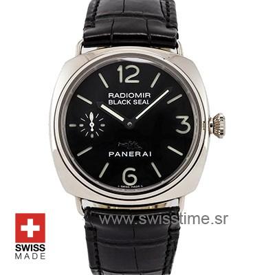 Panerai Radiomir Black Seal | White Gold Swiss Replica Watch