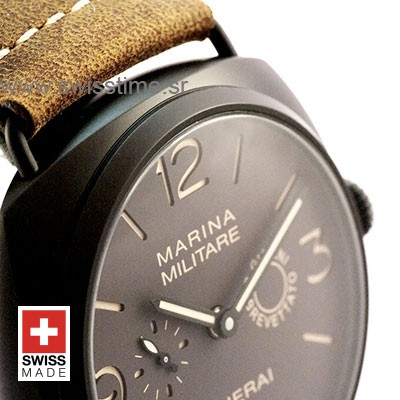 PANERAI RADIOMIR 8 DAYS COMPOSITE TITANIUM & ALUM BROWN 47mm 75gr MANUAL-WIND PAM 339