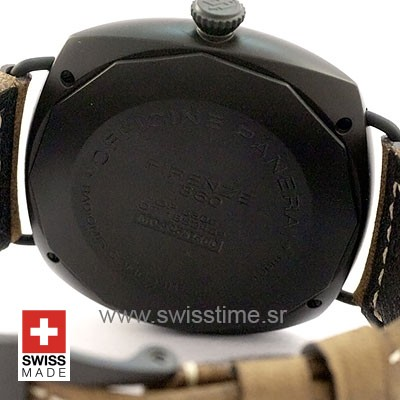 PANERAI RADIOMIR 8 DAYS COMPOSITE TITANIUM & ALUM BROWN 47mm 75gr MANUAL-WIND PAM 339
