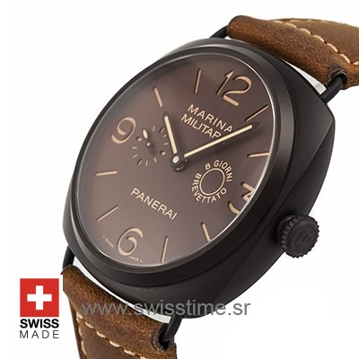Panerai Radiomir 8 Days Titanium Composite | Swisstime Watch