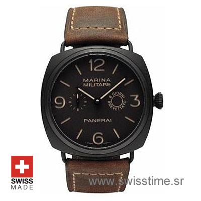 Panerai Radiomir 8 Days Titanium Composite | Swisstime Watch