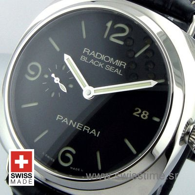 PANERAI RADIOMIR 1950 3 DAYS BLACK SEAL 45mm AUTOMATIC P.9000 PAM 388-2186