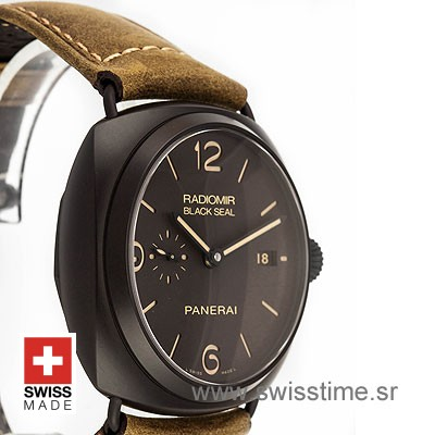 PANERAI RADIOMIR BLACK SEAL COMPOSITE DLC 45mm AUTOMATIC P.9000 PAM 505-2170
