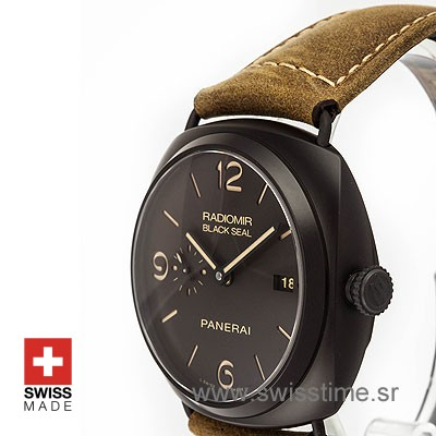 PANERAI RADIOMIR BLACK SEAL COMPOSITE DLC 45mm AUTOMATIC P.9000 PAM 505-2169