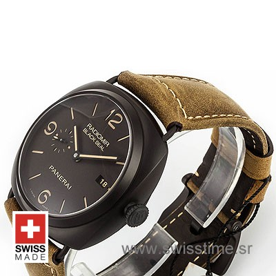 PANERAI RADIOMIR BLACK SEAL COMPOSITE DLC 45mm AUTOMATIC P.9000 PAM 505-2168