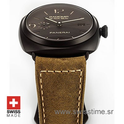 PANERAI RADIOMIR BLACK SEAL COMPOSITE DLC 45mm AUTOMATIC P.9000 PAM 505-2171