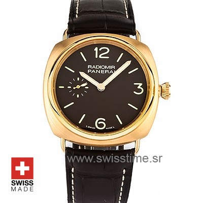 Panerai Radiomir Rose Gold [PAM336] Swisstime Replica Watch