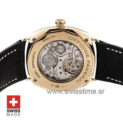 Panerai Radiomir Rose Gold Black Dial Swisstime Replica watch