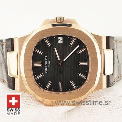 Patek Philippe Nautilus 18k Rose Gold 40m