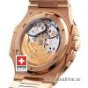 Patek Philippe Nautilus Rose Gold 40mm | Chocolate Dial Watch
