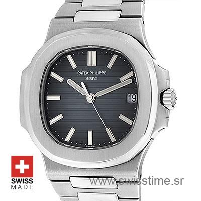 Patek Philippe Nautilus Black Dial 40mm | Swiss Replica Watch