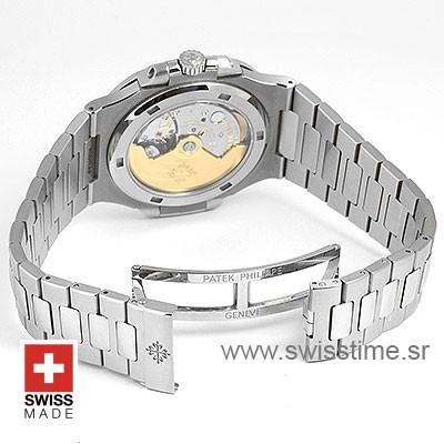 Patek Philippe Stainless Steel Nautilus White Dial 40mm
