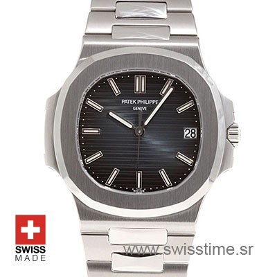Patek Philippe Nautilus Black Dial 40mm | Swiss Replica Watch