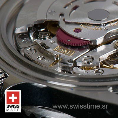ROLEX SUBMARINER 2-TONE BLUE DIAMONDS CERAMIC 40mm OVERSIZED 116613